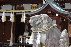 狛犬 辛國神社