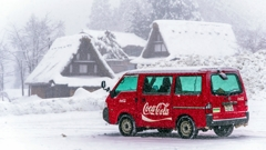 冬でもCoca-Cola!