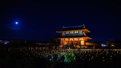 月夜の朱雀門