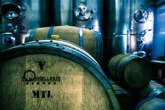 ワイン醸造中