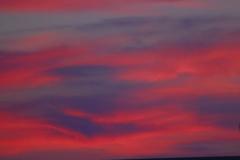 或る日の夕焼