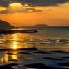 夕暮れの御輿来海岸 1