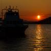 ☆琵琶湖大橋の日の出