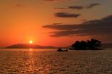 ☆真っ赤に染まる宍道湖