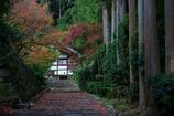 秋の古刹めぐり--ささやかな紅葉