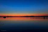 ☆琵琶湖のマジックアワー