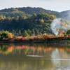 広沢池の色