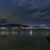 琵琶湖のバス釣り少年