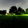 空と地の光の干渉