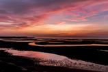 真紅の海岸