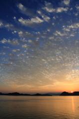 雲と夕日 その二