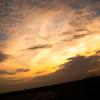 夕焼けと雲