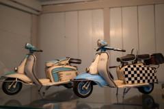四国・道後ぎやまんガラス美術館 ブリキのバイク