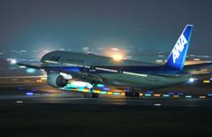 ANA B777 Take Off