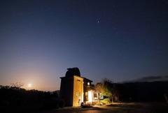 月夜のさじ天文台