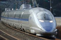 天神山トンネル500系