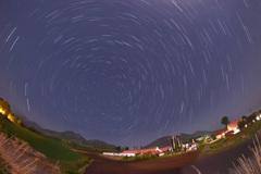 蒜山高原の夜