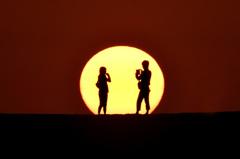夕陽のふたり