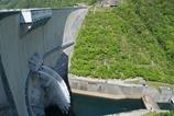 温井ダムの放水 Ⅰ