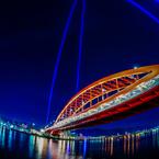 神戸大橋の頂点