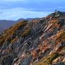 五竜岳 山頂の朝