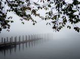 On the other side of the fog