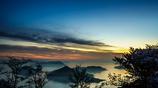 Seto Inland Sea of morning glow