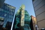 水晶みたいな建物