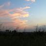 風に流れる雲