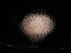 「秋」の多摩川花火大会 四