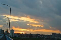 夕焼けな雲