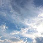 CANON Canon EOS Kiss X5で撮影した(夏の空(いい雲))の写真(画像)