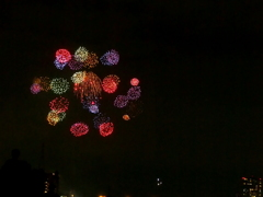 「秋」の多摩川花火大会 三