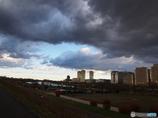 ちょっと怖い雲