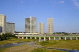 古い一眼レフで撮影した二子玉川風景