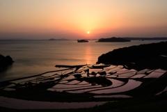 これぞ日本の夕景