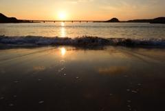 夕日の似合う場所