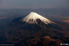 上空からの富士山 その4