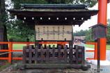 雨の上賀茂神社にて その2