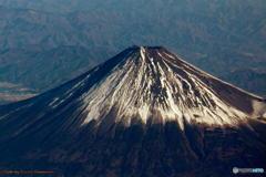 上空からの富士山 その3