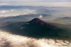 上空からの富士山 その5