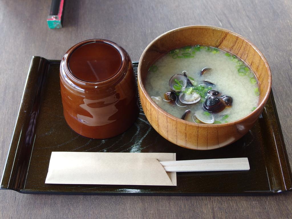 宍道湖の大粒しじみ汁