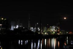 月夜の要塞
