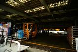 漁港の市場