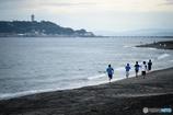 江の島を走る