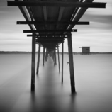 鋼製の桟橋