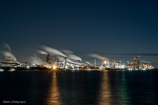 Nagoya factory night view