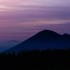 紫雲の岩手山