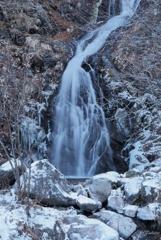 初冬の白滝