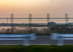淀川の雲海